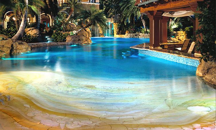 Give your home a sophisticated look with a unique swimming for Pool design unique
